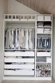 excellent ikea walk in closet design offer nicely organized on