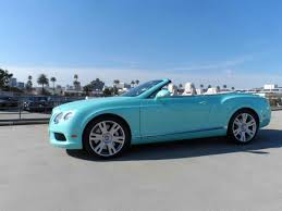 bentley blue forget the jewelry here u0027s a tiffany blue bentley continental gtc