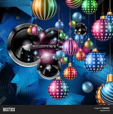 christmas party flyer music night vector u0026 photo bigstock
