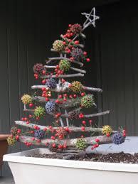 twig christmas trees christmas lights decoration