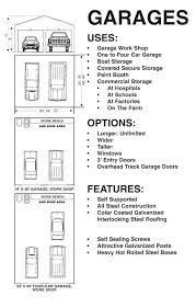 4 Car Garage Size | standard garage dimensions full size of door height doors sizes feet