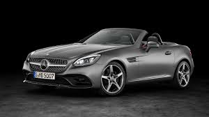mercedes headlights at night mercedes slc pricing announced for uk