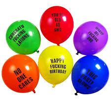 birthday balloons shitty balloons shittyballoons