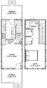 12x28 tiny house 12x28h8a 756 sq ft excellent floor plans