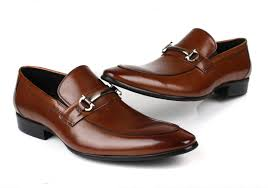 wedding shoes office wholesale fashion black brown loafers shoes mens dress shoes