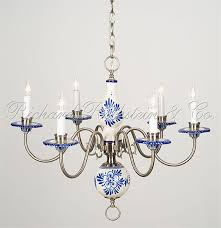 Blue Delft Chandelier Beautiful Delft Chandelier I Just Found One Of These At A Yard