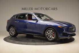 chrome blue maserati 2017 maserati levante s stock b1271a for sale near westport ct