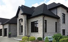 home design johnson city tn architecture wall general shale brick with black sloping roof and