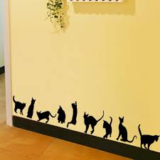 diy funny cat wall stickers home decoration bedroom living room diy funny cat wall stickers home decoration bedroom living room parlor murals