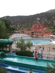 under these pools there is natural warm springs that heat the pool