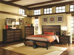 Vintage Look Bedroom Furniture Nice Barn Rustic Queen Storage Bed Frame With Tall Chest As Well