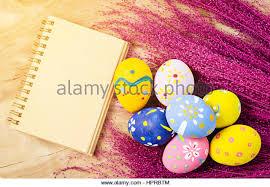 wooden easter eggs that open ladybug eggs stock photos ladybug eggs stock images alamy