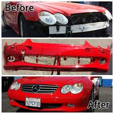 lexus van nuys yelp 2008 lexus front end collision repair before u0026 after yelp