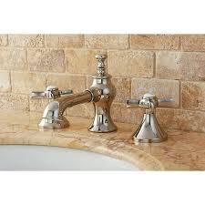 Polished Nickel Bathroom Fixtures Country Polished Nickel Widespread Bath 20843