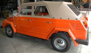 volkswagen orange barrett jackson vw thing sale dastank com