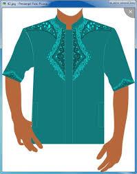 desain jas koko 100 desain baju kemeja koko jual hem twoline white ot pakaian