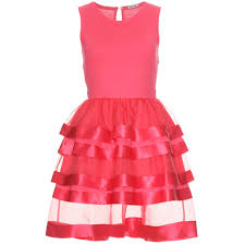 mytheresa com miu miu cotton and silk tiered dress luxury