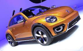 volkswagen beetle concept vw beetle dune off road concept 2014 detroit auto show