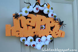 Halloween Door Wreaths It U0027s Written On The Wall Halloween Wreaths Ghosts Trees And