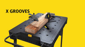 Keter Folding Work Bench Review Stanley Fatmax Express Folding Workbench Youtube