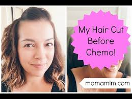 short haircuts for chemo patients pre chemo hair cut lovefrommim com youtube