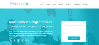 26 simple landing page html website templates wisset