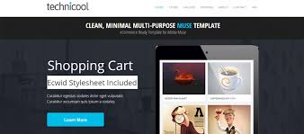 free muse template 20 ecwid compatible themes for ecommerce