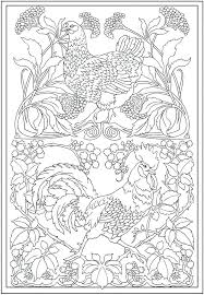 Detailed Coloring Pages Complex Coloring Pages Detailed Animal Coloring Pages Coloring by Detailed Coloring Pages