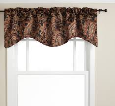 Bathroom Valance Ideas by Appealing Black Valances For Window 140 Black And Gold Valance