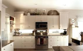 Decorating The Top Of Kitchen Cabinets Ideas For Top Of Kitchen Cabinets Decorations Best 25 Above