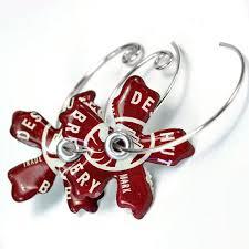 bottle cap necklaces wholesale beer or soda recycled jewelry bottle cap earrings bottle cap