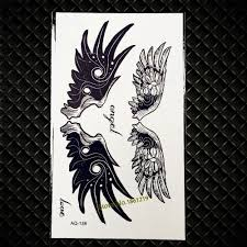 neck wing tattoos compare prices on cool wing tattoos online shopping buy low price