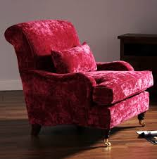 Pink Armchair Pink Velvet Armchair Upholstered By Feather U0026 Weave