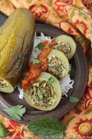 cuisine courgette kousa mahshi lebanese stuffed courgettes cooksister food
