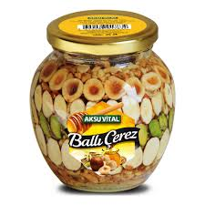 turkish honey nuts traditional food product mixed nuts in honey
