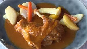 cuisiner poule recette poule au vinaigre météo à la carte