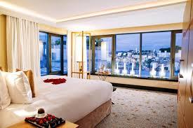 chambre carlton cannes hotel 5 étoiles cannes hôtels de luxe palaces plage privée