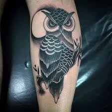 owl and moon elaxsir