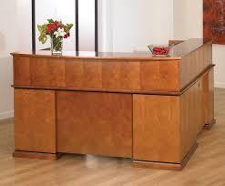Veneer Desk New Ofd Madison Series 72 U2033x90 U2033 L Shape Satin Cherry Wood Veneer