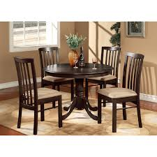 5 piece dining set casual sets expandable table kitchen chairs