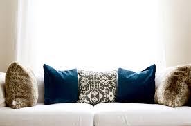 Navy Velvet Cushion Blue Velvet In The Living Room By Georgia Grace