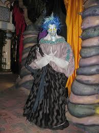 hades at the disney villains meet and greet at mickey u0027s halloween