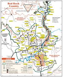 Map Of Arizona Cities Map Of Sedona Arizona Area Hiking 365 Things To Do In Sedona Az