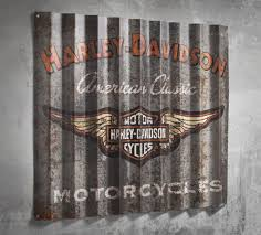 Harley Davidson Home Decor by Retro Cool Hang This Sign In Your Man Cave Garage Basement Or