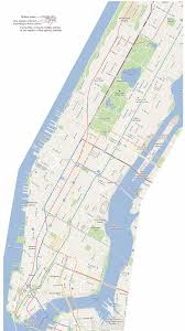 New York Submay Map by New York Subway Map Top New York Attractions