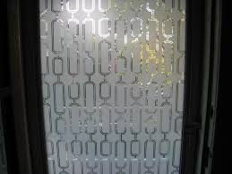 classy sidelight window film stained glass with modern wallpaper