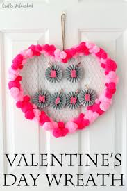 valentine crafts for kids pom poms crafts unleashed