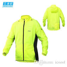 fluorescent cycling jacket arsuxeo men cycling jacket outdoor sports running jacket windproof