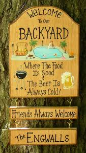 44 best home backyard patio pool signs images on pinterest pool