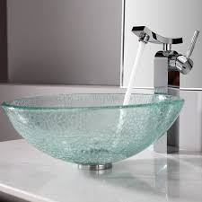 bathroom vessel sink ideas bathroom comely bathroom decoration ideas using glass bathroom